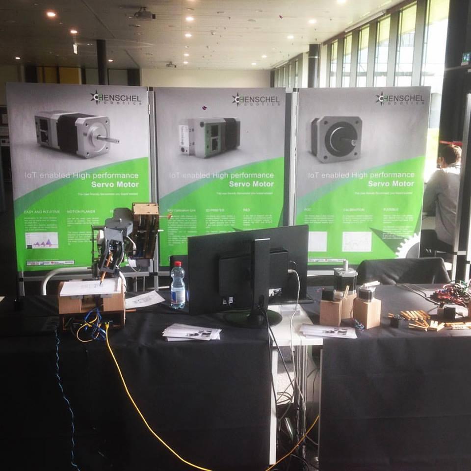 Swiss robotics industry day in Lausanne, Switzerland